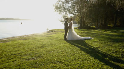 Raffertys Resort Wedding Videography | Kristie + Jarrad Wedding Social Media