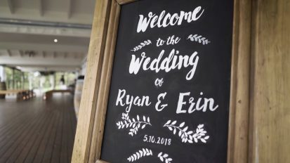 Chapel Hill Retreat Wedding Videography | Erin + Ryan Wedding Sneak Peek