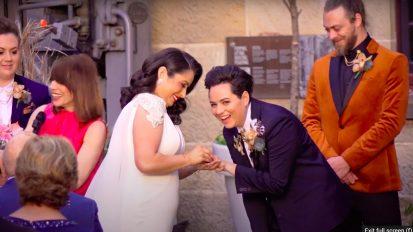 The Establishment Sydney Wedding Videography | Pamela + Tracy Wedding Highlights