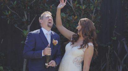 Gerringong Elopement Wedding Videography | Marnie + Matt Wedding Highlights